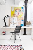 Bertoia Side Chair at Home Office Desk