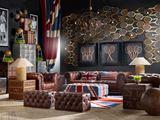 British Sports Themed Living Room