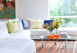 Cheery Modern Norwegian Living Room