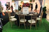 Circular Dining Table at IDS West 2013