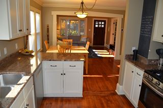 Photo of Compact Kitchen Area in Small Home
