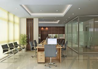 Photo of Contemporary Office Board Room by Vu Dang Khoi