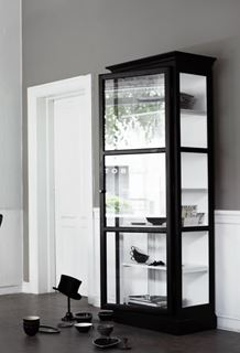 Photo of Contemporary Tall Glass Pantry