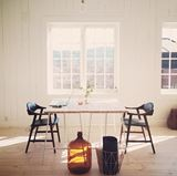 Cozy Country Styled Shabby Chic Dining Room