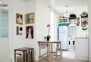 Photo of Cute French Kitchen in Paris