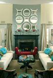 Eclectic Posh Living Room