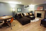 Finished Modern Basement and Recreation Room