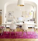 Interior Designer's Creative Home Office Board Room
