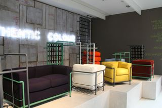 Photo of Le Corbusier Inspired Seating at Milan Design Week