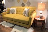 Lovely Yellow Modern Sofa
