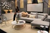 Luxurious Living Room Display at IDS West 2013