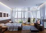 Modern Condo Bedroom by Vu Dang Khoi