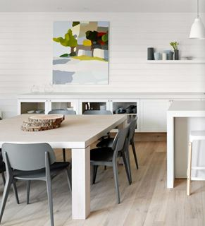 Photo of Modern Kitchen Dining Area
