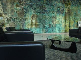 Photo of Noguchi Coffee Table in Oceanic Tower Lobby