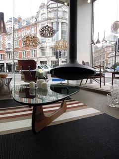 Photo of Noguchi Table in London Furniture Store