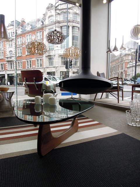 Noguchi table in london furniture store mdn for L furniture warehouse london