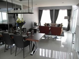 Photo of Open Plan Dining Room Interior