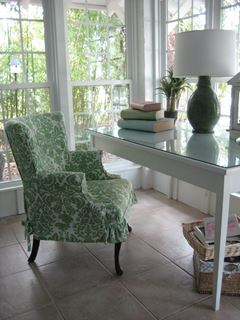 Photo of Pastel Cottage Style Working Desk