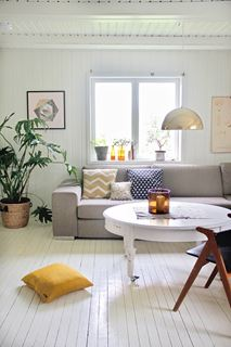 Photo of Semi Eclectic Modern Norwegian Living Room