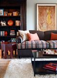 Subtle Eclectic Styling in this Beautiful Living Room