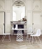Traditional French Style Dining Area with Modern Furnishings