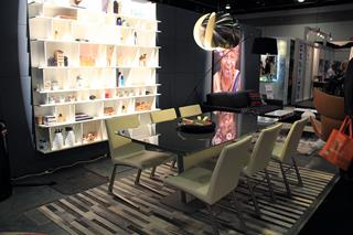 Photo of Ultra Modern Dining Room by BoConcept at IDS West 2013