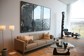 VitraHaus Open Concept Living Room