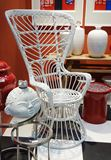 White, Wicker Chair