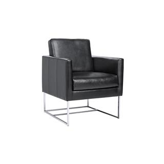 Photo of Agency Nobility Leather Arm Chair