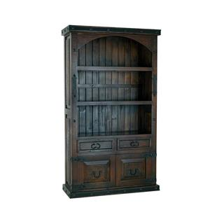 Photo of Salado Tall Bookshelf with Hand-Forged Iron Hardware