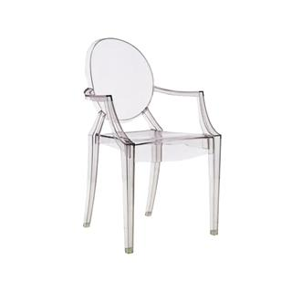 Photo of Casper Replica Ghost Chair Clear Plastic