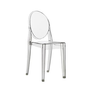 Photo of Casper Replica Ghost Side Chair Clear Plastic