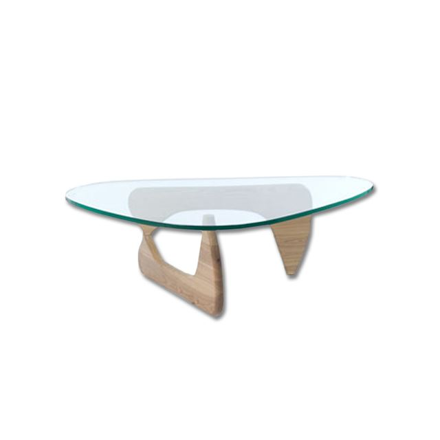 noguchi coffee table american walnut base only weight