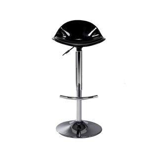 Photo of Plastic Black Adjustable Bar Stool