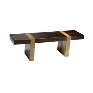 Berkeley Solid Wood Rustic Bench