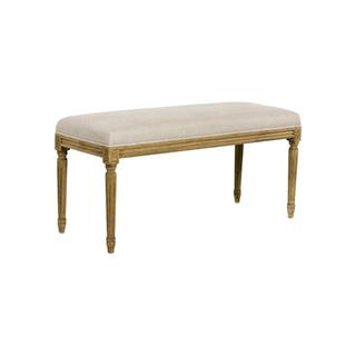 Photo of Lille French Country Louis XVI Natural Oak Bench