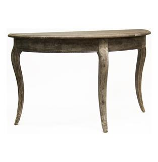 Photo of Maison French Country Demi Lune Console Table