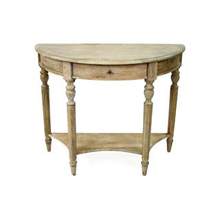 Photo of Traditional French Country Style Demilune Console Table