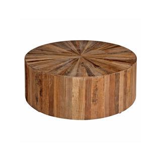 Cyrano Round Drum Coffee Table