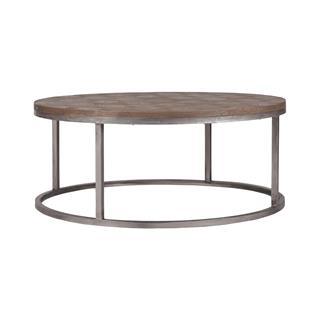 Photo of Colby Industrial Loft Coffee Table Reclaimed Wood