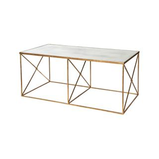 Photo of Furano Hollywood Regency Mirror Coffee Table