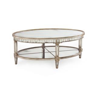 Photo of Kendrick Hollywood Regency Mirror Coffee Table