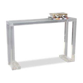 Photo of Ava Modern Acrylic Console Table