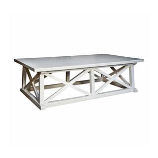 Photo of Luc Coastal Beach White Wash Coffee Table