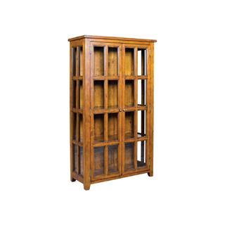 Irish Coast Reclaimed Pine China Display Cabinet