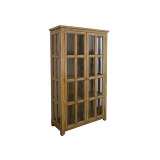 Photo of Irish Coast Summer Grass Reclaimed Pine China Display Cabinet