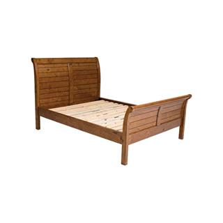 Photo of Irish Coast Reclaimed Pine Platform Panel Bed