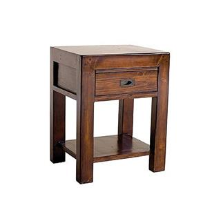 Photo of Post & Rail Reclaimed Pine Bedside Cabinet