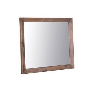 Post & Rail Sundried Reclaimed Pine Mirror