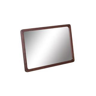 Remi Natural Walnut Rounded Rectangle Mirror